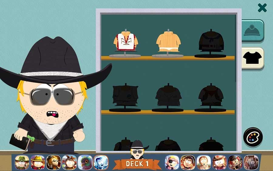 South Park Phone Destroyer Outfit Guide - Cowboy Outfit