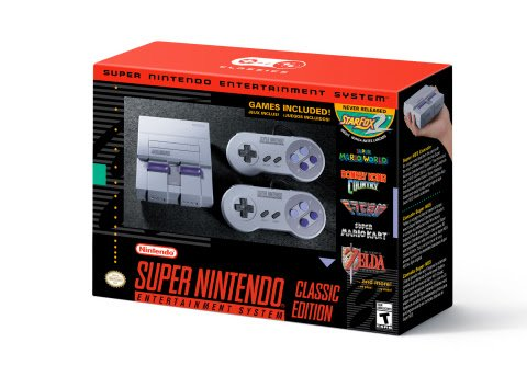 Super NES Classic Edition - Gamers Heroes