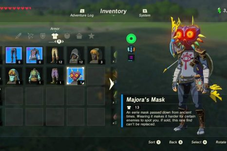 Where To Find Majora's Mask In Zelda Breath Of The Wild