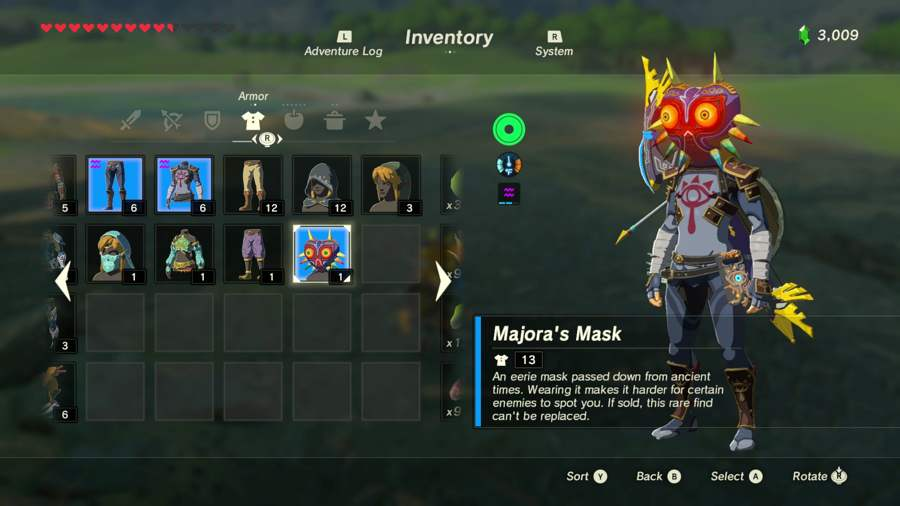 Where To Find Majora's Mask In Breath Of The Wild