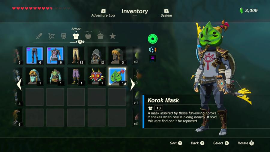 Where To Find The Korok Mask In Zelda Breath Of The Wild