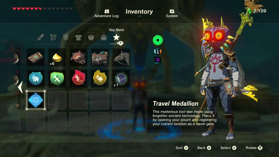 Where To Find The Travel Medallion In Zelda Breath Of The Wild