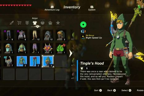 Where To Find Tingle's Outfit In Zelda Breath Of The Wild