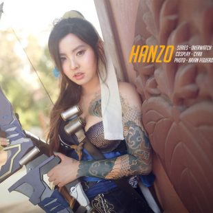 Cosplay Wednesday – Overwatch's Hanzo (Female)