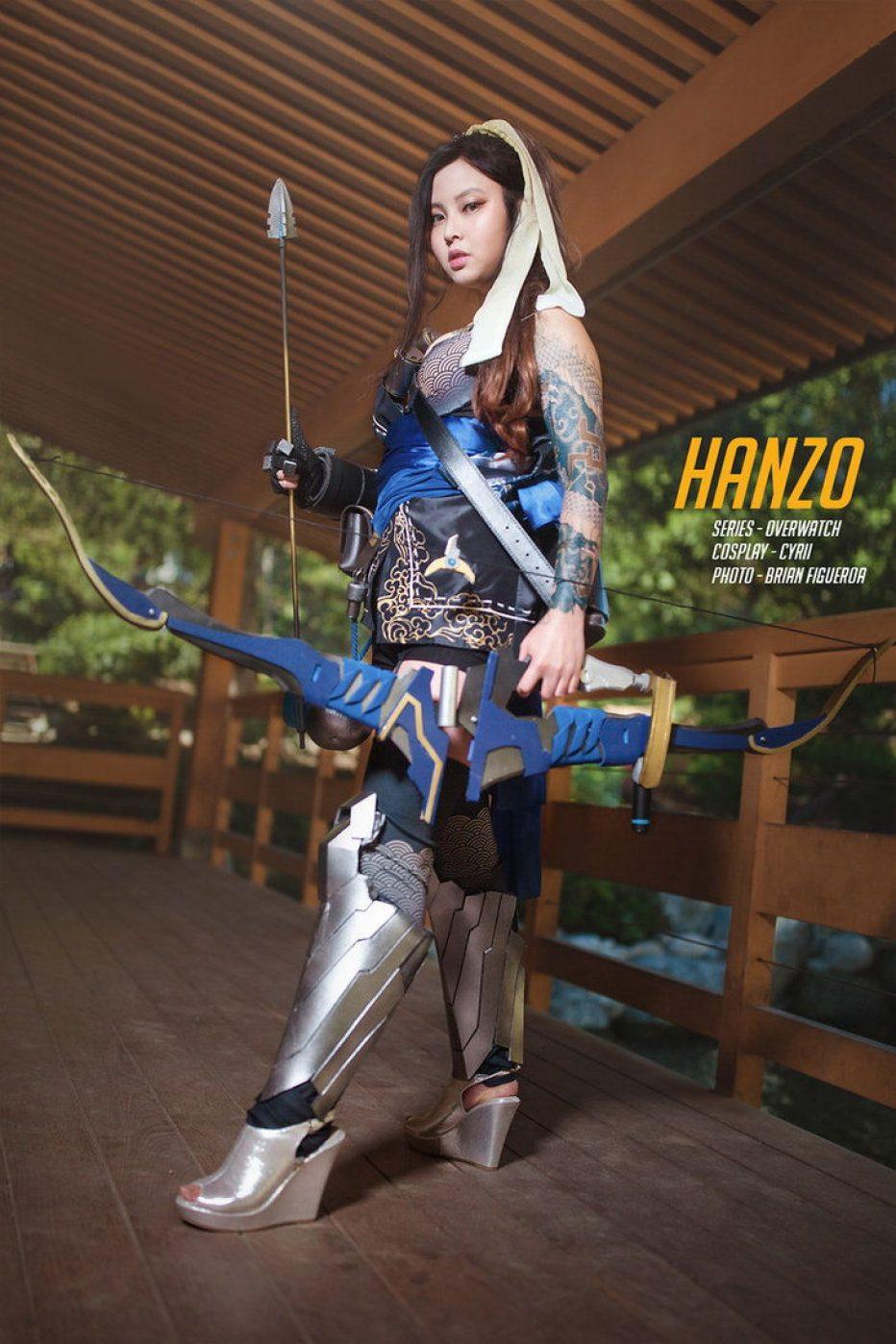 Cosplay Wednesday - Overwatch's Hanzo (Female) - GamersHeroes
