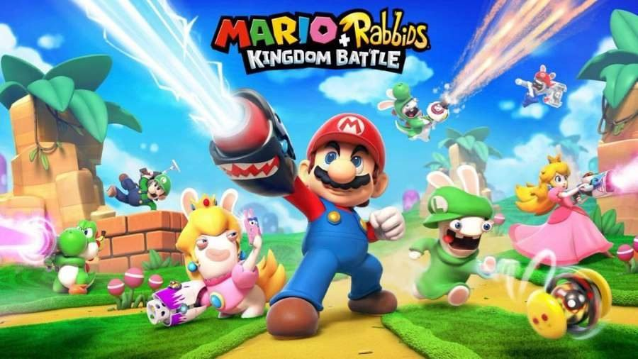 Mario and Rabbids Kingdom Battle - Gamers Heroes