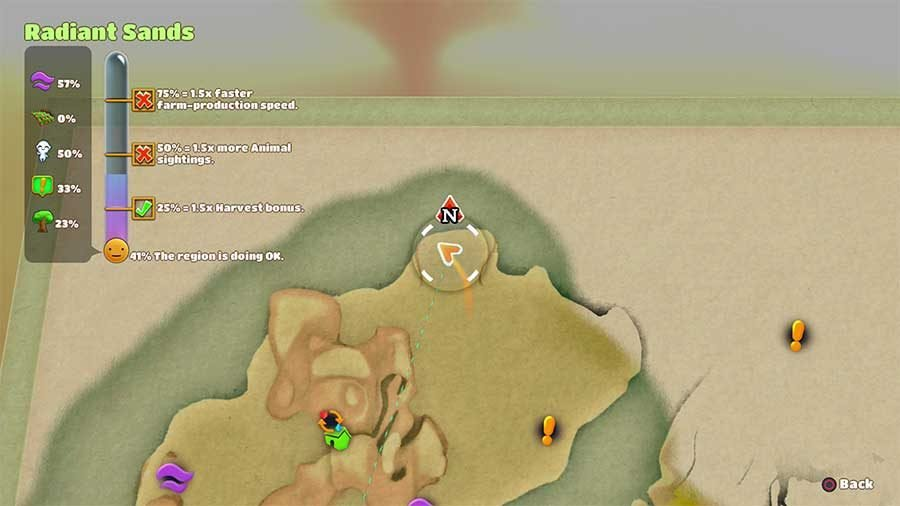 Radiant Sands Cat Location 4