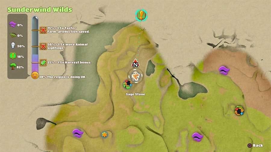 Sage Stone - Sunderwind Wilds
