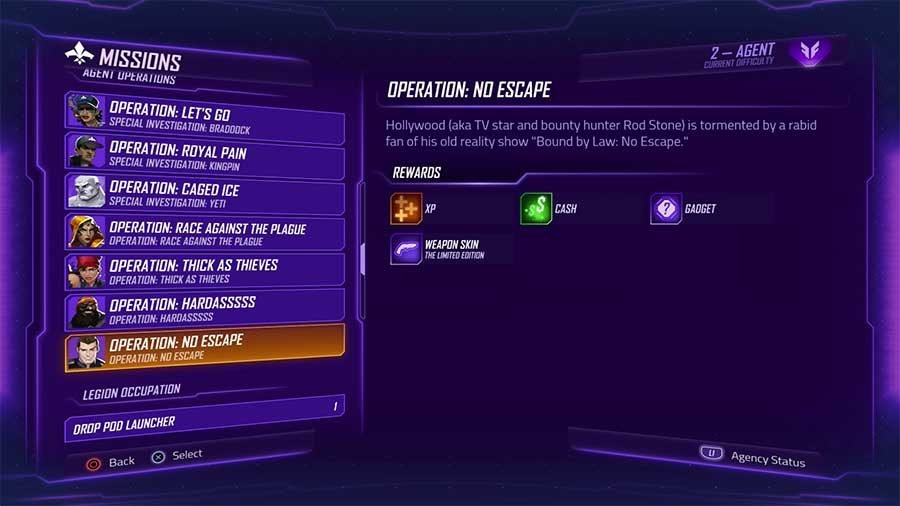 Agents Of Mayhem Weapons Skin Unlock Guide