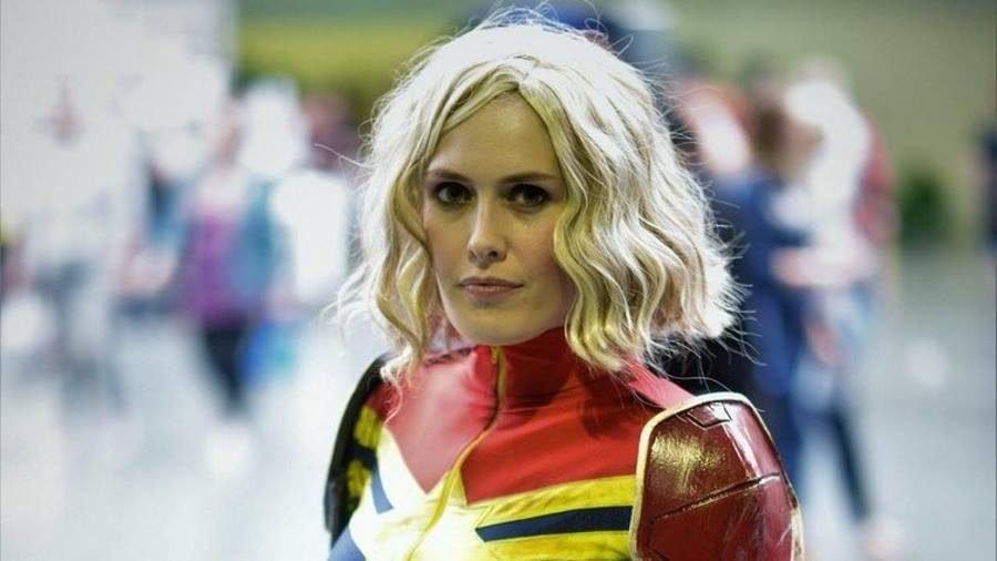 Captain Marvel Cosplay - Gamers Heroes