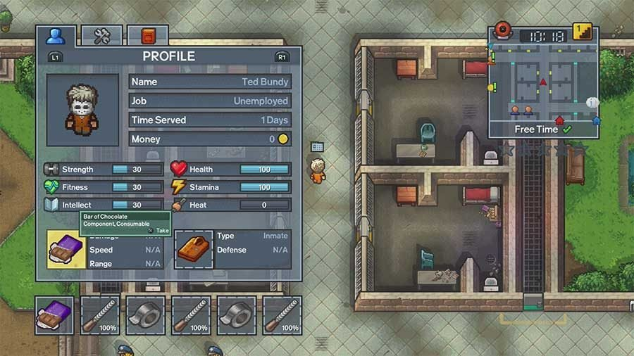 How To Complete Perimeter Breakout On Centre Perks In The Escapists 2 - Items Needed