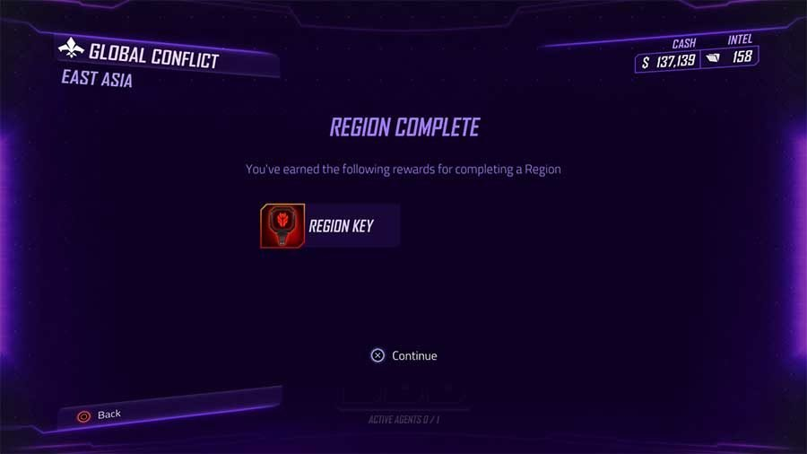 How To Get Region Keys In Agents Of Mayhem