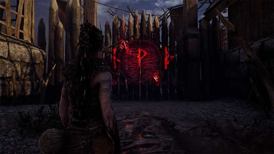 How To Open The 4th Rune Gate (T P D) In Hellblade Senua's Sacrifice