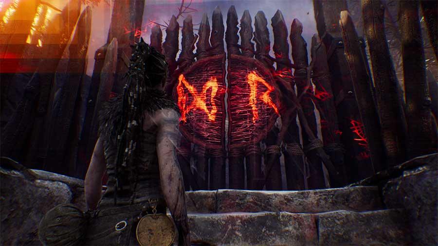 Unlock The Door >> How To Open The R Infinity Rune Gate In Hellblade: Senua's Sacrifice
