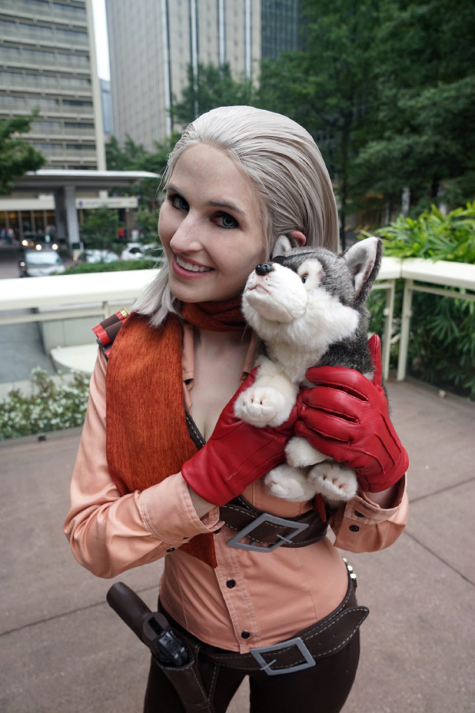 Cosplay Wednesday Metal Gear Solid S Revolver Ocelot Female