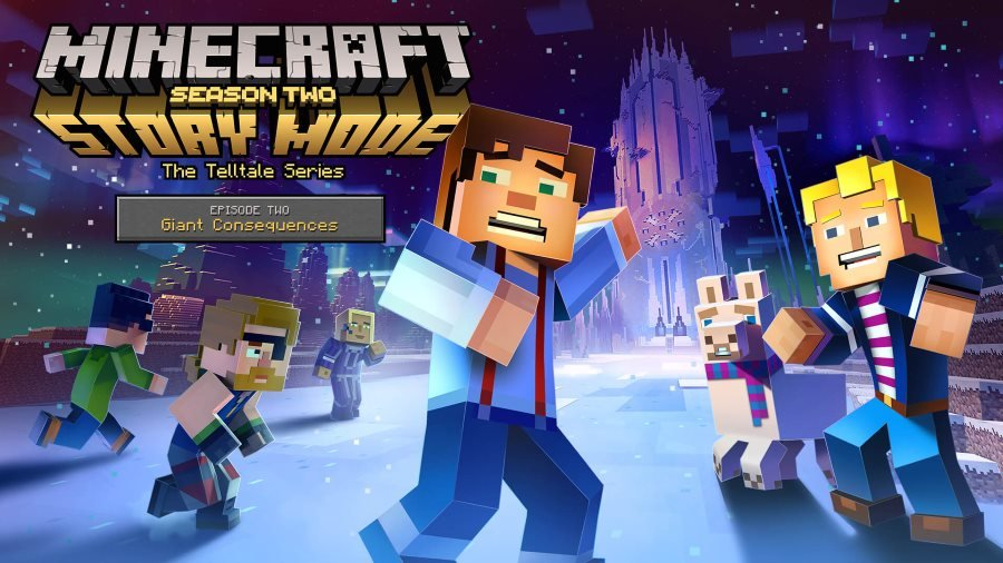 Minecraft Story Mode Season Two Episode Two - Gamers Heroes