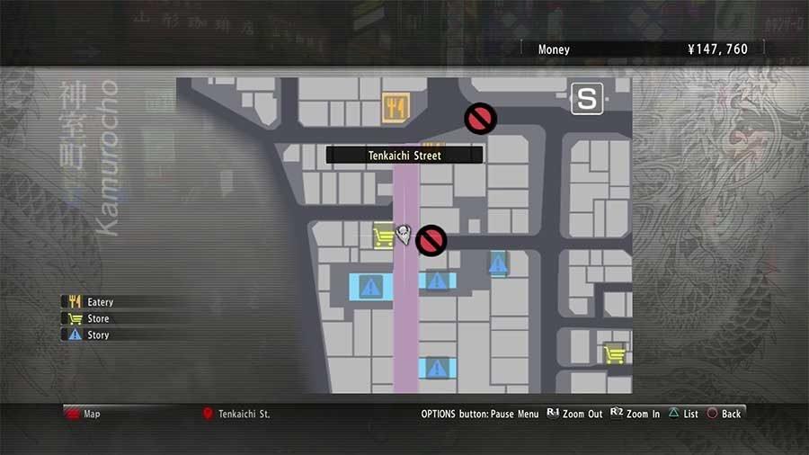 Locker Key A1 Map Location