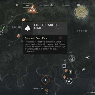 Destiny 2 – EDZ Treasure Map Hunt Guide
