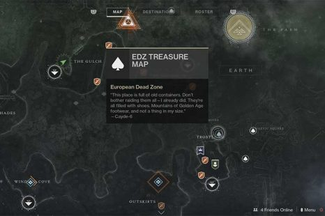 Destiny 2 – EDZ Treasure Map Hunt Guide