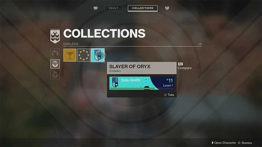 Slayer Of Oryx