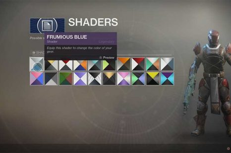 Destiny 2 Shaders Guide – List Of Shaders & Locations