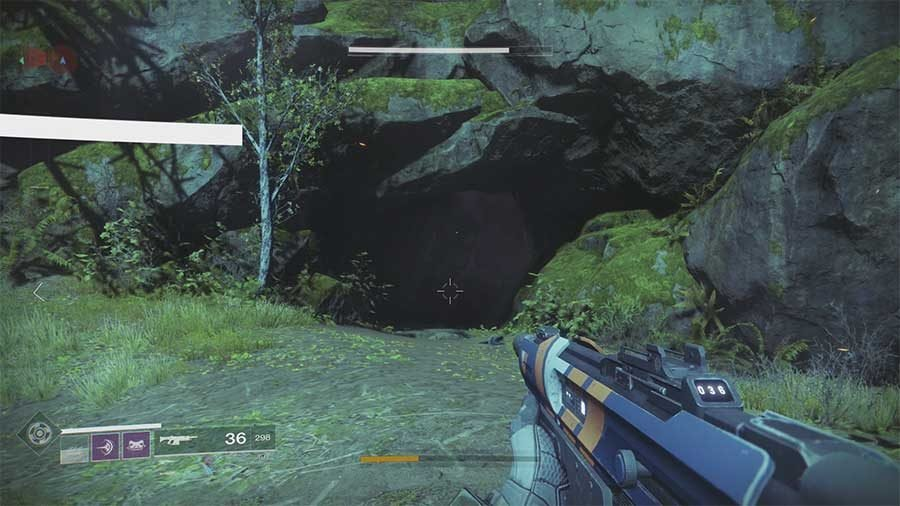 Earth Lost Sector 11 - Excavation Site 11 Entrance