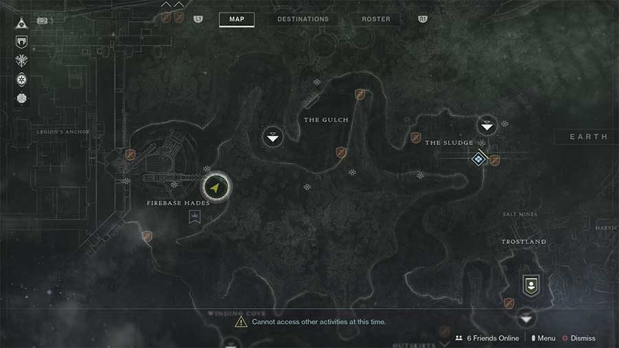 Earth Lost Sector 11 - Excavation Site 11 Map