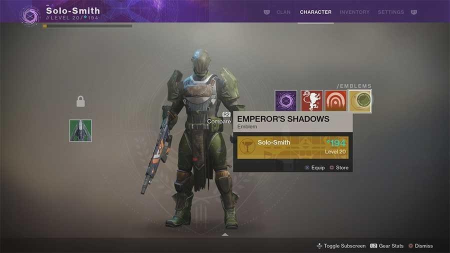 Emperors Shadows Emblem