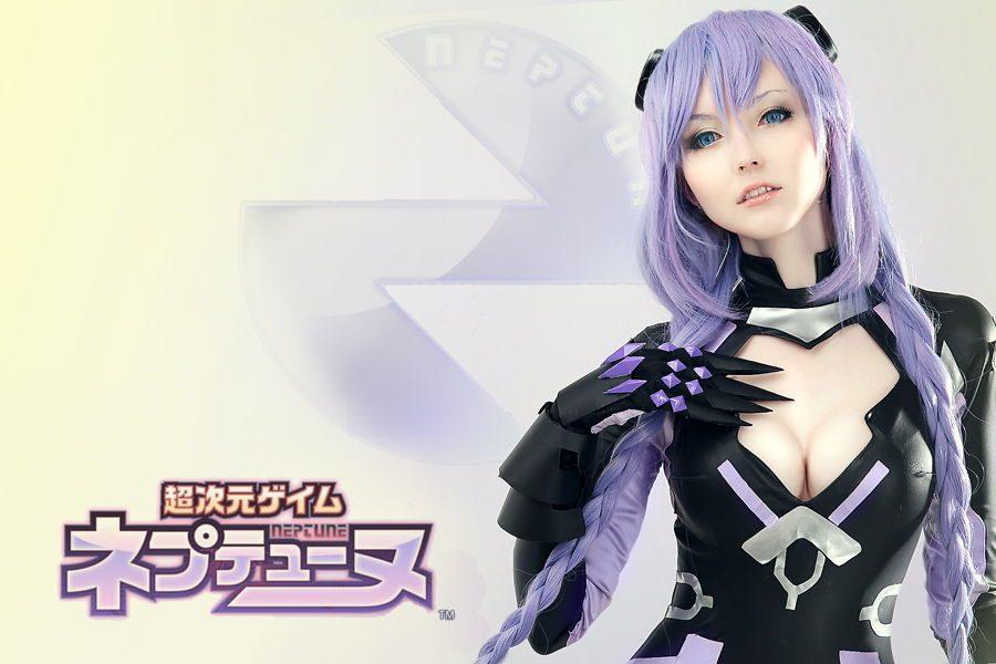 Hyperdimension Neptunia Purple Heart Cosplay - Gamers Heroes