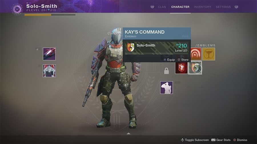 Kays Command Emblem