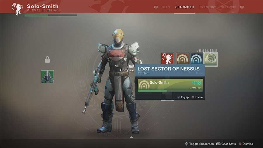 Lost Sector Of Nessus Emblem