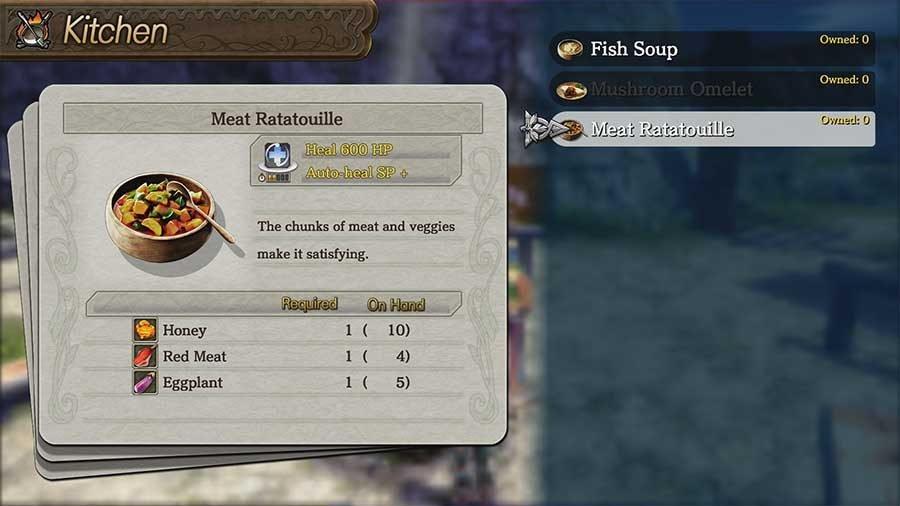 Meat Ratatouille