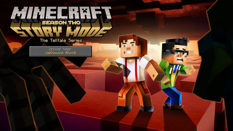 Minecraft Story Mode Season Two Episode Three - Gamers Heroes