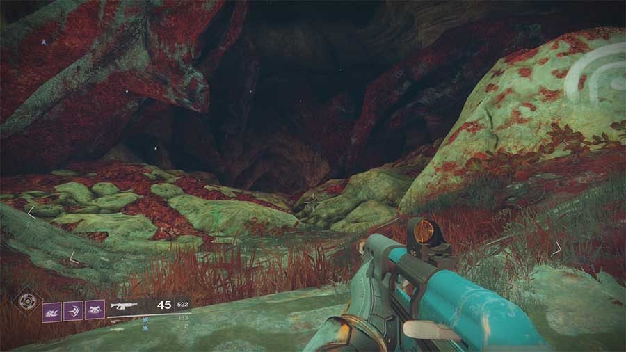 Nessus Lost Sector 2 - Ancients Haunt
