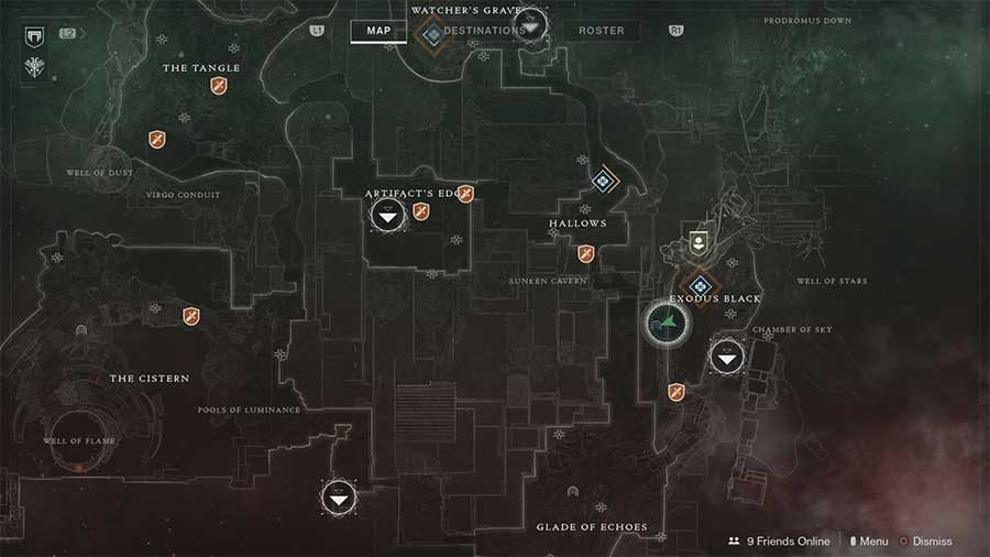 Nessus Lost Sector 3 - The Rift