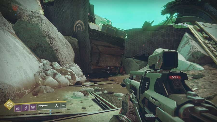 Nessus Lost Sector 4