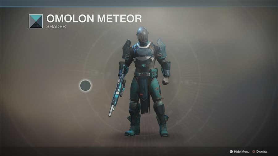 Omolon Meteor