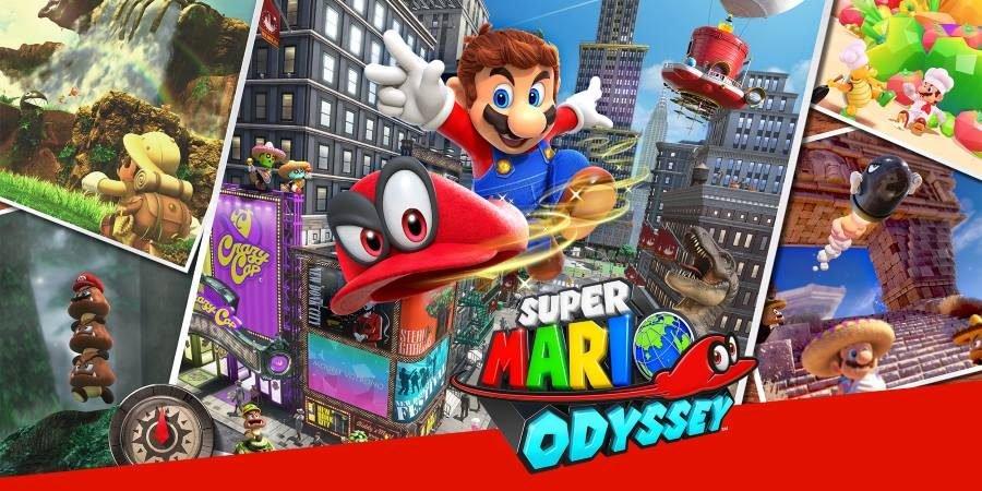 Super Mario Odyssey - Gamers Heroes