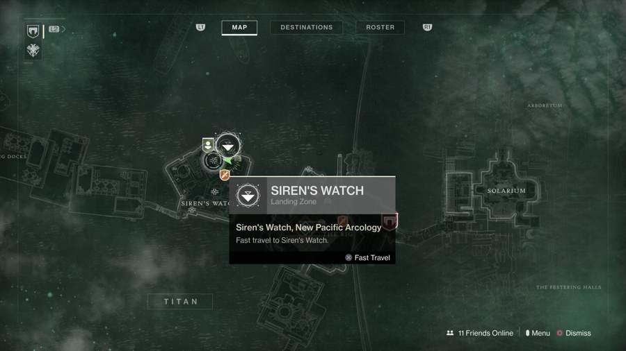 Titan Chest Location 1