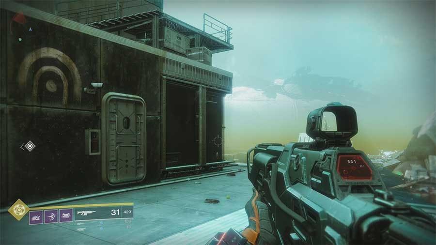 Titan Lost Sector 1 - Methane Flush