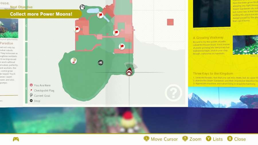 Super Mario Odyssey Wooded Kingdom Moon Location Guide