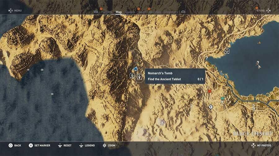 Black Desert - Nomarchs Tomb