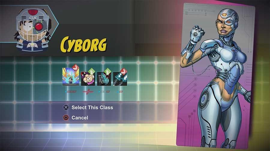 Cyborg Class