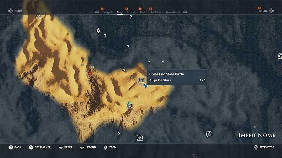 Divine Lion Stone Circle - Iment Nome