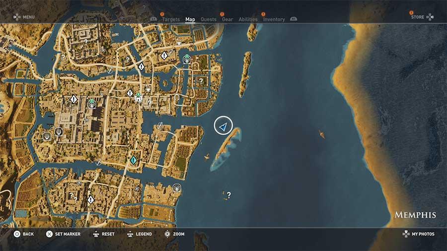 Assassin's Creed Origins guida agli Enigmi dei Papiri 5