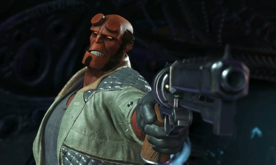 Hellboy Injustice 2 - Gamers Heroes