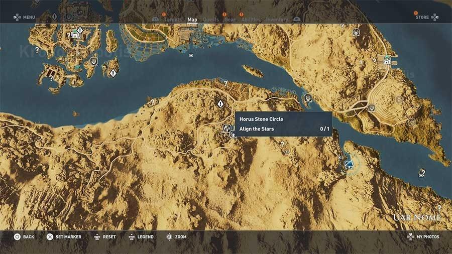 Horus Stone Circle - Uab Nome
