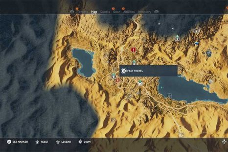 How To Fast Travel In Assassins Creed Origins