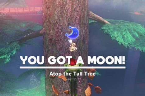 Super Mario Odyssey Wooded Kingdom Power Moon Location Guide