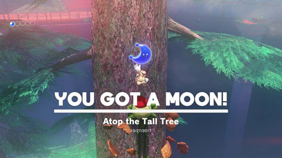Super Mario Odyssey Wooded Kingdom Moon Location Guide